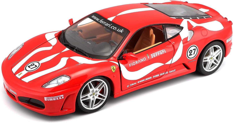 Bburago 1 24 Scale Ferrari Race and Play F430 Fiorano Diecast Vehicle