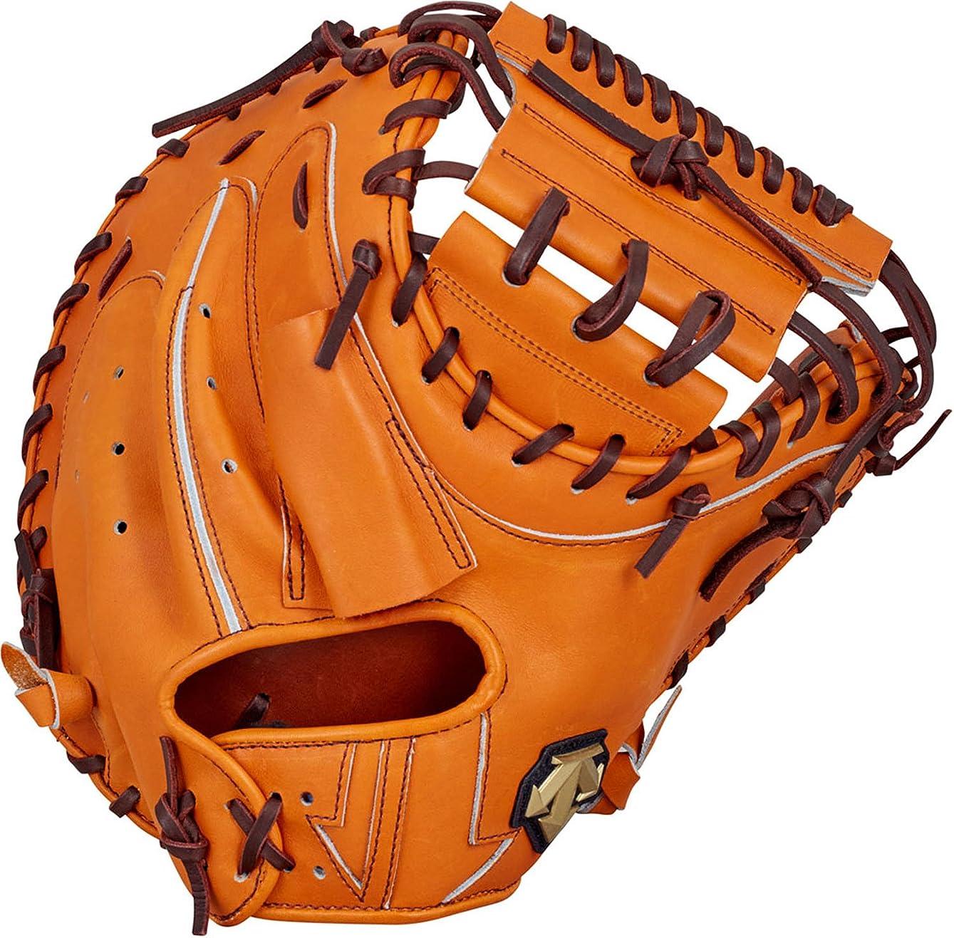 まもなく操作可能ジュラシックパークDESCENTE(デサント) 野球 硬式 グローブ キャッチャーミット プロメイド 右投用 オレンジ Lサイズ DBBLJG42