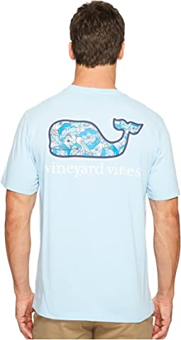 Vineyard Vines - Short Sleeve Pelican Magnolias Whale Flat Pocket Tee