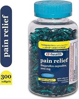A+ Health Ibuprofen 200 Mg Softgels, 300Count
