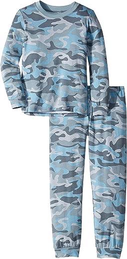 Crew Long Sleeve Top & Pants Set (Little Kids)