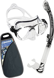 Cressi Big Eyes Evolution Conjunto Combo de Snorkel, Unisex
