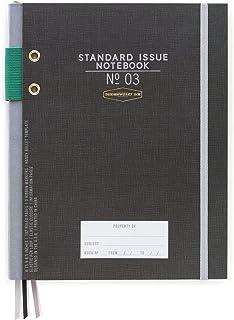 DesignWorks Ink Standard Issue Bound Personal Journal, Black