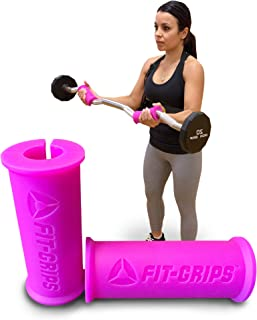 Core Prodigy Fit Grips 1.75 Thick Bar Weight Training Grips