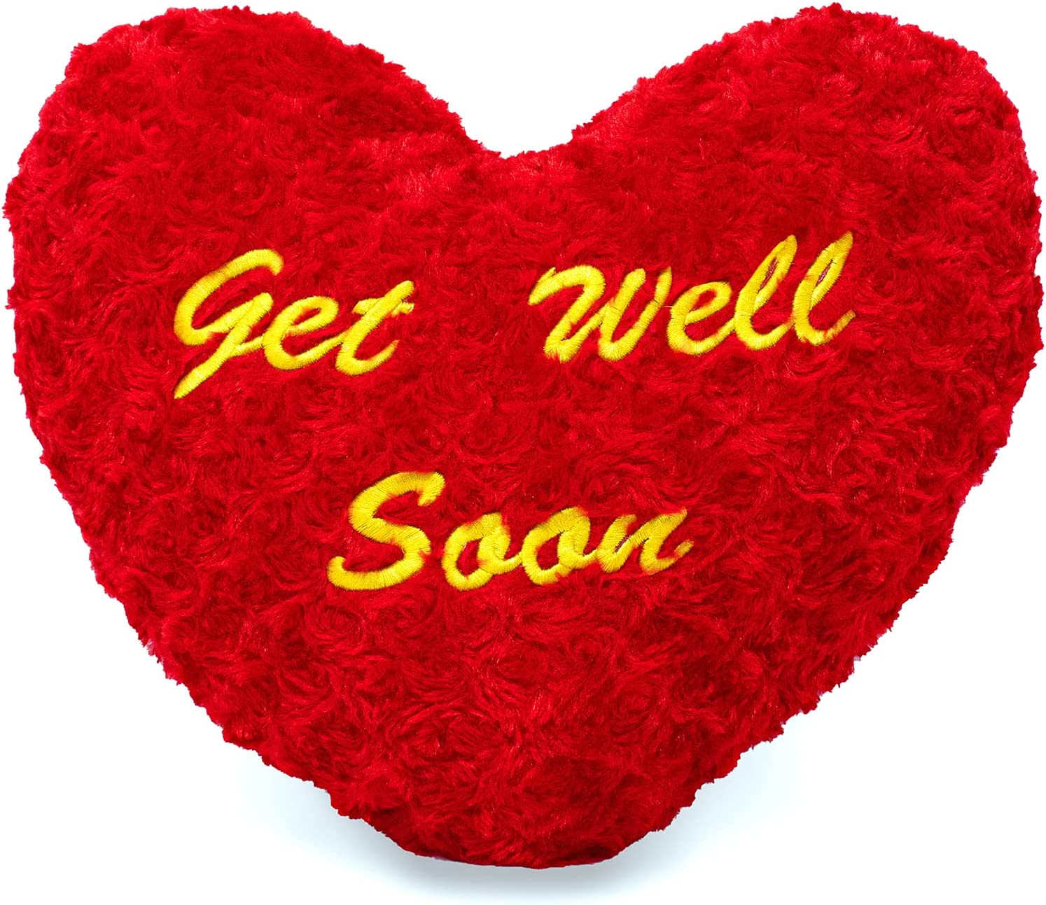 Plush Heart Superior Shaped Get Well Soon Pillow x inches Ranking TOP16 14.5 - Sup 12.5