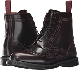 Dr. Martens Delphine 6-Eye Brogue Boot