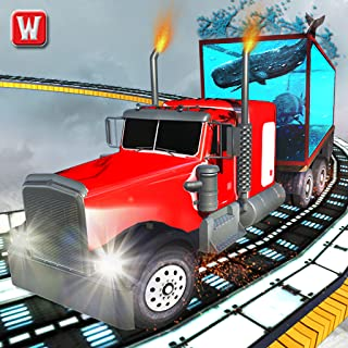 Impossible Whale Shark Transport Truck Driving 3D