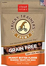 Cloud Star Tricky Trainers Chewy & Grain Free, Low Calorie Dog Training Treats, Baked in the USA