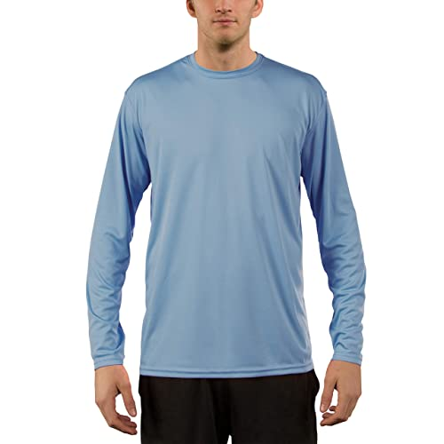 3b6b4a5a909 Vapor Apparel Men s UPF 50+ UV Sun Protection Performance Long Sleeve T- Shirt