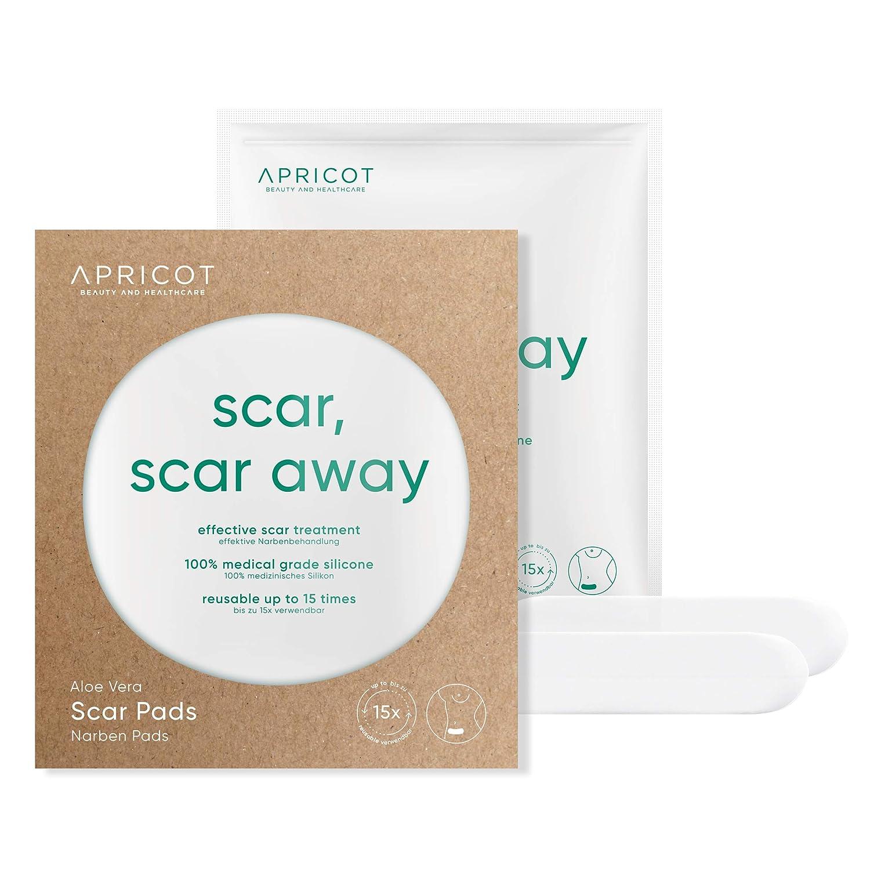 高級な APRICOT Scar 定価の67%OFF Pads with Organic Aloe for Wound Healing Hy of Vera