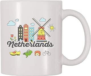 4 All Times Netherlands Coffee Mug (11 oz)
