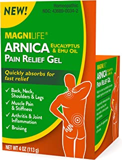 MagniLife Arinca Back, Neck, Joint, Muscle, Soreness Natural Pain Relief Cream