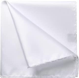 Mens Handky Solid color Pocket Square Wedding Party Gift Handkerchief Tuxedo