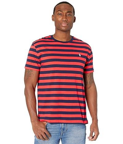 Polo Ralph Lauren Crew Neck T-Shirt (Racing Red/French Navy) Men