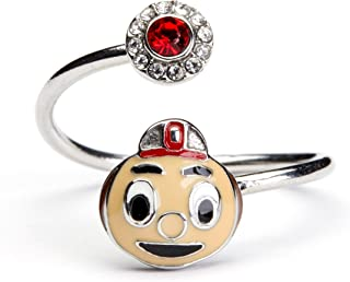 Ohio State Ring | Ohio State Brutus Buckeye Ring Adjustable | Officially Licensed Ohio State Jewelry | OSU Gifts | Brutus Buckeye | Ohio State Jewelry