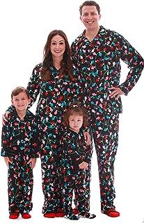 Matching Christmas Pajamas for Family and Couples