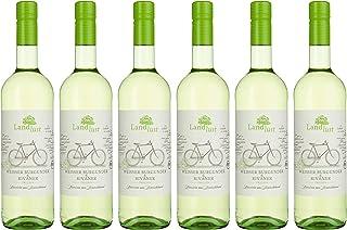 Landlust Weißer Burgunder & Rivaner BIO Weißwein Trocken  6 x 0.75l