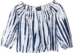 Shibori Linen Boho Top (Toddler)