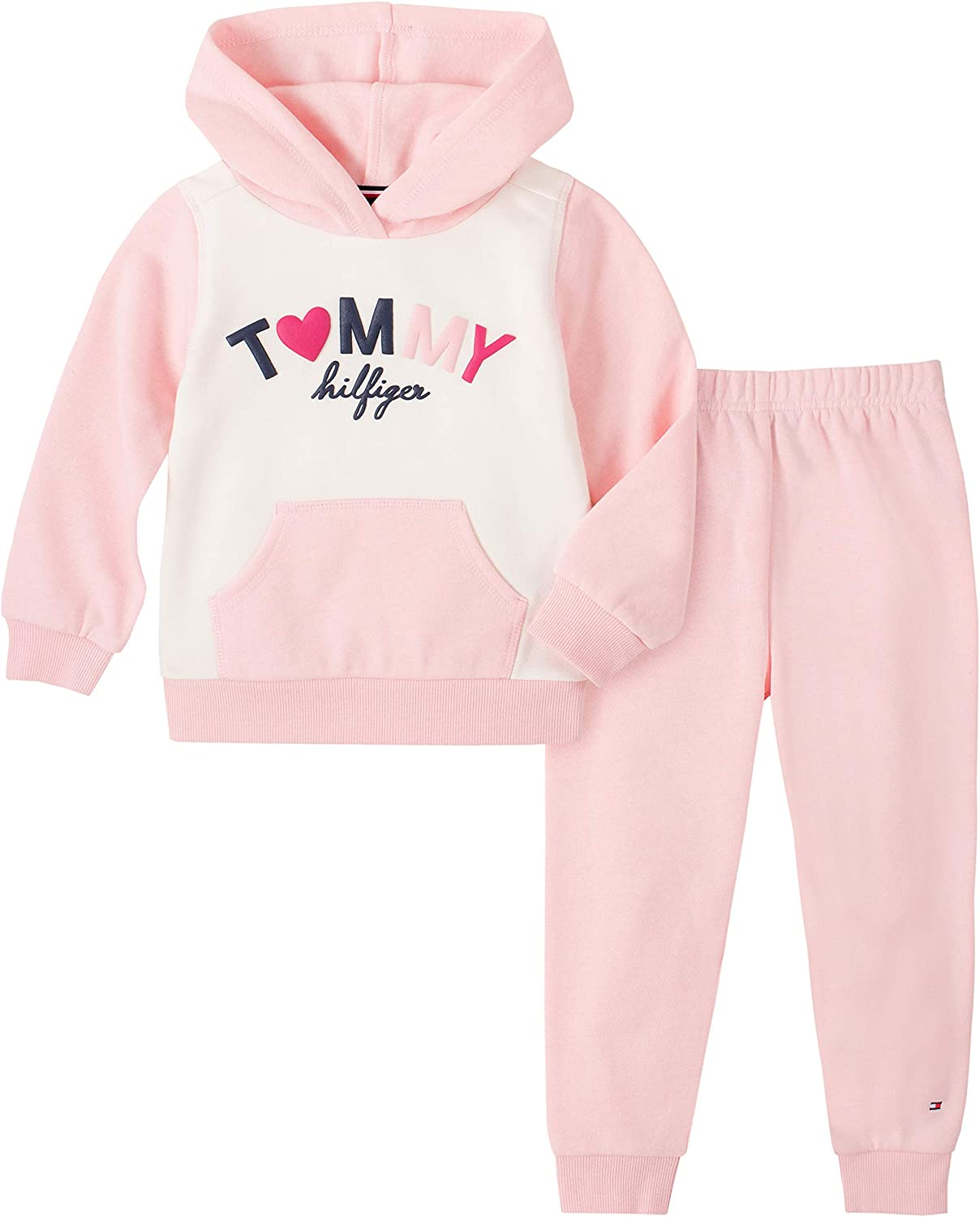 Tommy Hilfiger Boys 2 Pieces Hooded Jog Set