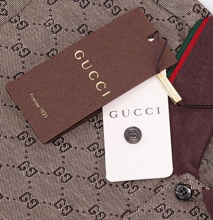 Gucci Polo Camiseta para Hombre, Manga Corta, Polo T, Estampado GG, Todos los Tamaños