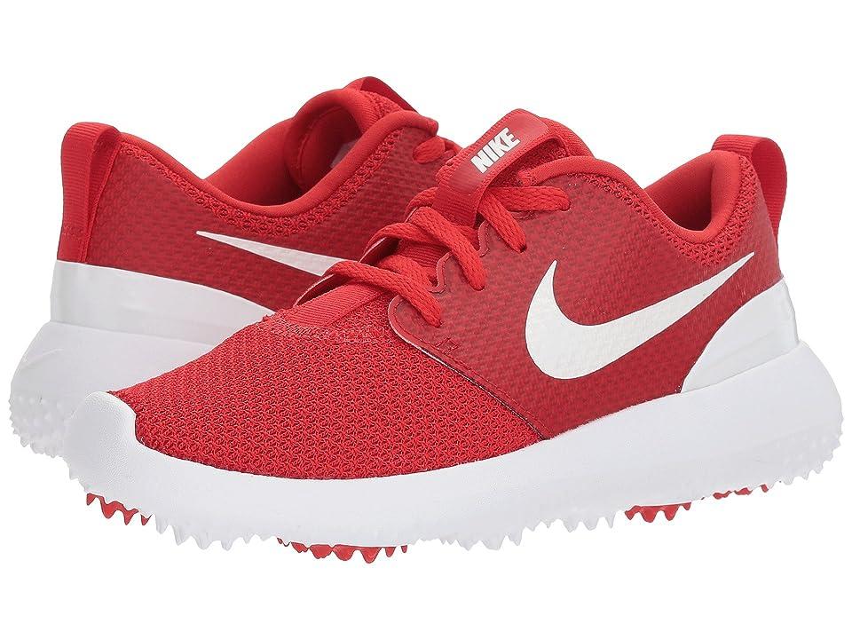 Nike Golf Roshe G (Little Kid/Big Kid) (University Red/White) Men