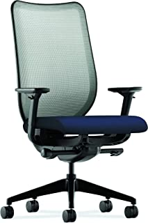 The HON Company HONN102CU98 HON Nucleus Task Chair with Mesh Back, in Navy (HN1), Fog