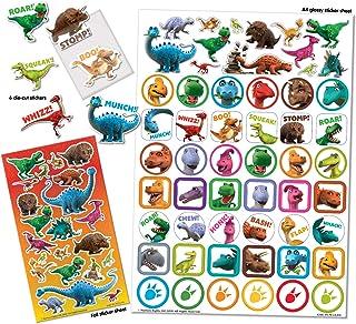 Paper Projects 01.70.22.011 Świat dinozaurów Ryk Mega zestaw naklejek