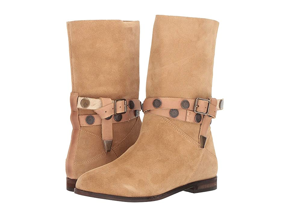Free People Hayden Slouch Boot (Sand) Women