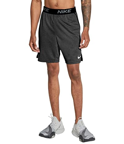 Nike HYB Veneer Train Shorts (Black/Heather/White) Men
