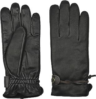 100% Deerskin Leather Gloves for Men | Micropile Lining | Rugged Style | CRAZY HORSE II by GRANDOE