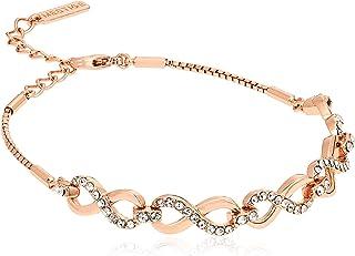 MESTIGE Women Crystal Rose Gold Only You Bracelet with Swarovski Crystals