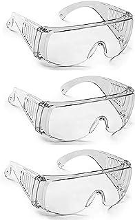 Fellkon® Clear Anti- Fog Lens, Reusable Laboratory Glass For Men's, Women's And Boys. (3 TRUMPH GLASSES)