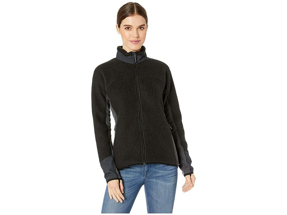 Burton Minturn Full Zip Fleece (True Black Heather) Women's Fleece