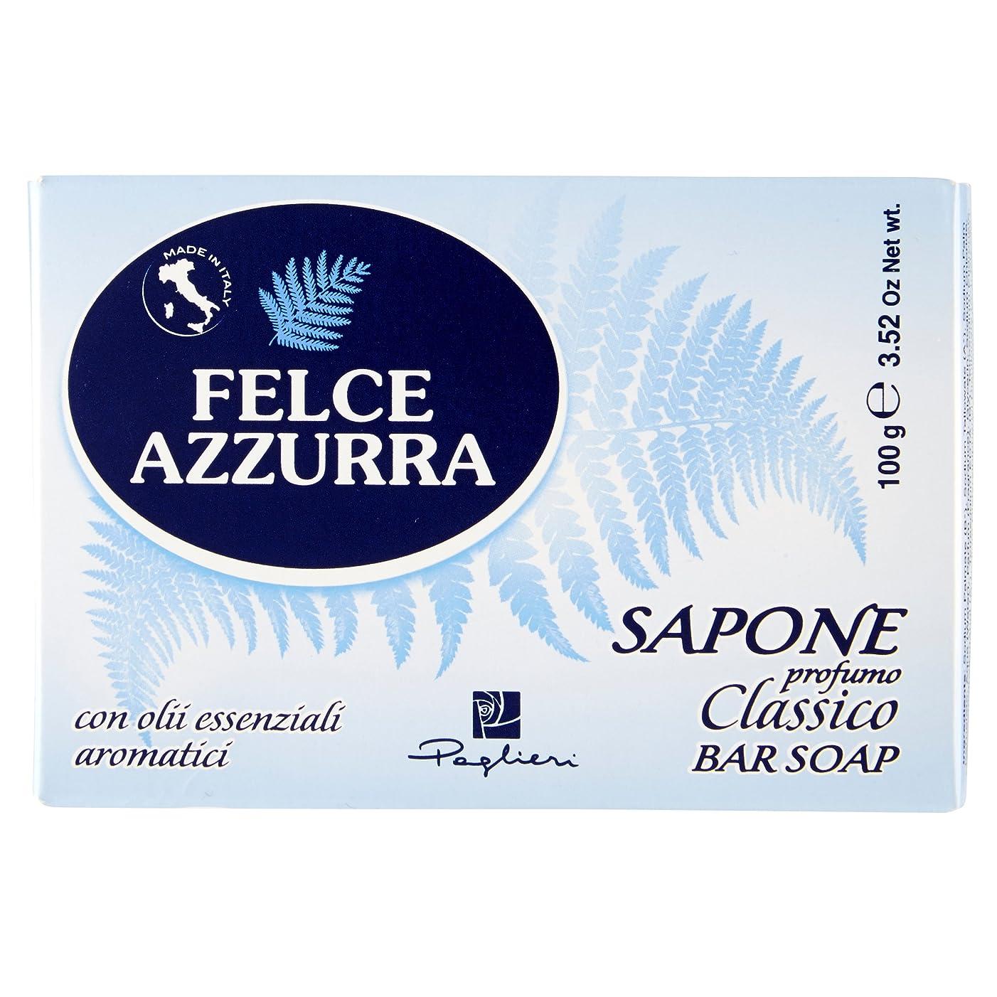 超える記念碑的な類似性Felce Azzurra Classico Bar Soap 100g soap by Felce Azzurra by Felce Azzurra