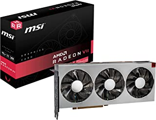 MSI Gaming Radeon VII 16GB 4096-bit HBM2 DP/HDMI Vega Architecture Graphics Card (Radeon VII 16G)