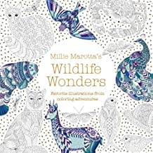 Millie Marotta's Wildlife Wonders: Favorite Illustrations from Coloring Adventures (A Millie Marotta Adult Coloring Book)
