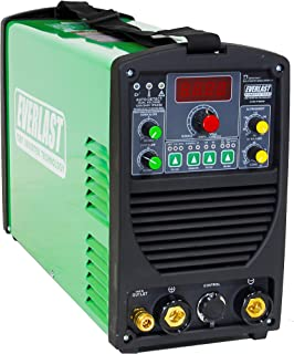 2019 Everlast PowerTIG 185 DV AC/DC TIG Stick Welder 110/220 Volt Inverter-based Dual Voltage 185AMP