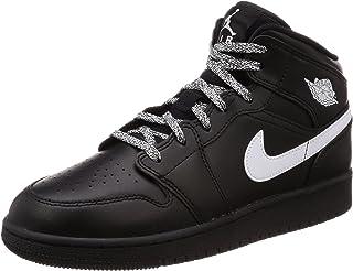 best service ede25 e1a20 Nike Air Jordan 1 Mid (GS), Chaussures de Basketball garçon