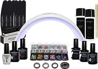 Lampara LED UV Secador de Uñas Esmalte Semipermanente Pintauñas Decoración de Uñas Manicura y Pedicura Nail Factory Editio...