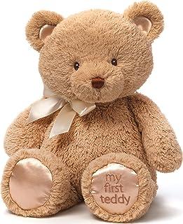 Gund My First Teddy Bear Baby Stuffed Animal, 15 inches