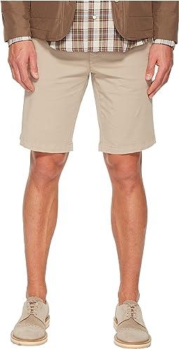 Flat Front Bermuda Shorts