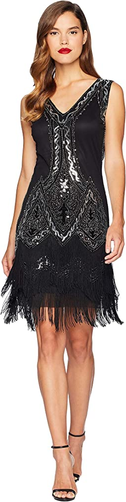 1920s Style Beaded Sylvie Flapper Dress