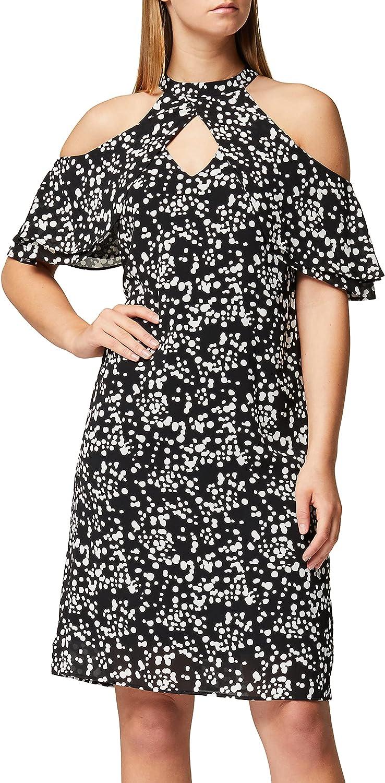 Amazon Brand - Truth Fable Women's latest Chiffon Dress A-Line W 2021 Mini