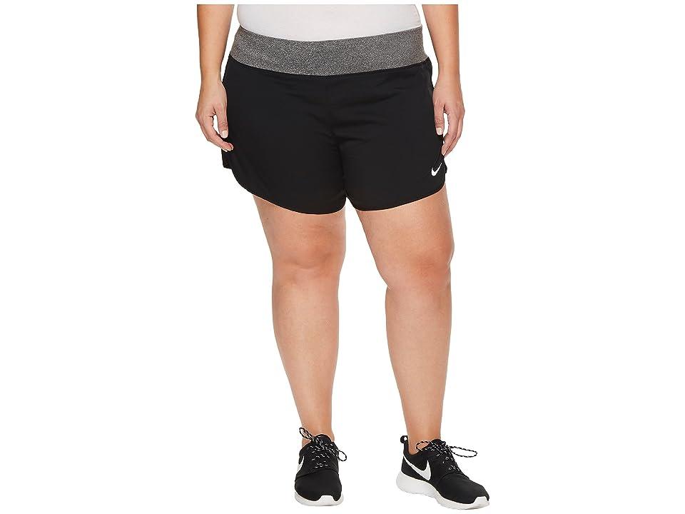 Nike Flex 5 Running Short (Size 1X-3X) (Black) Women