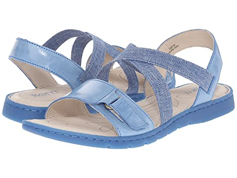 Women's Born Britton Sandals (Black Full Grain Leather) - ET543K