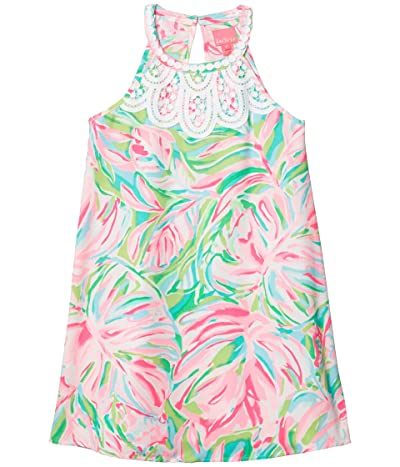 Lilly Pulitzer Kids Mini Pearl Dress (Toddler/Little Kids/Big Kids) (Multi Croc My World) Girl