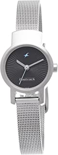 Fastrack Women's Casual Analog Watch with Silver Metal Strap (Silver 1)