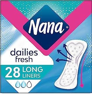 Nana Panty Liners, Long, Pack of 28