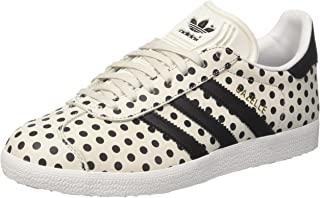 (4.5 UK, White (Balcri / Negbas / Ftwbla 000)) - adidas Women's Gazelle Trainers