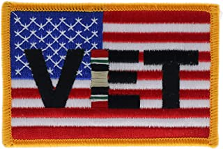 Iraq War Service Ribbon US Flag 3.5